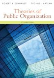 Theories of Public Organization:   2014 edition cover