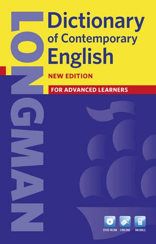 Dictionary of Contemporary English  4th 2009 edition cover