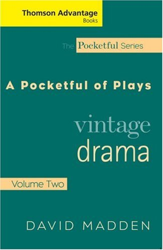 Pocketful of Plays Vintage Drama  2006 edition cover