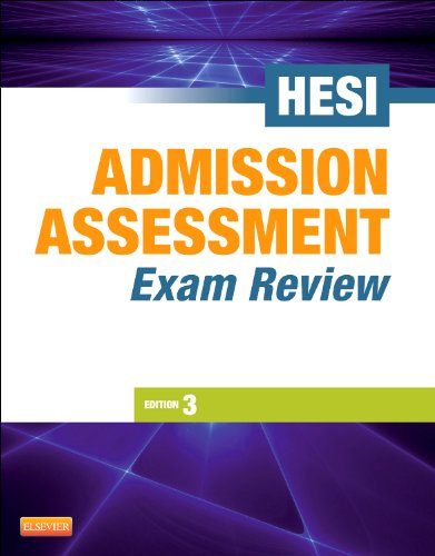 Admission Assessment Exam Review  3rd 2013 9781455703333 Front Cover