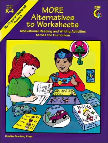 More Alternatives to Worksheets:  1994 edition cover