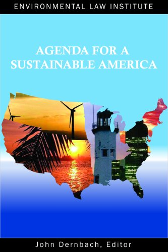 Agenda for a Sustainable America   2009 edition cover
