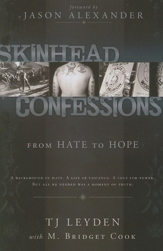 Skinhead Confessions : From Hate to Hope N/A edition cover