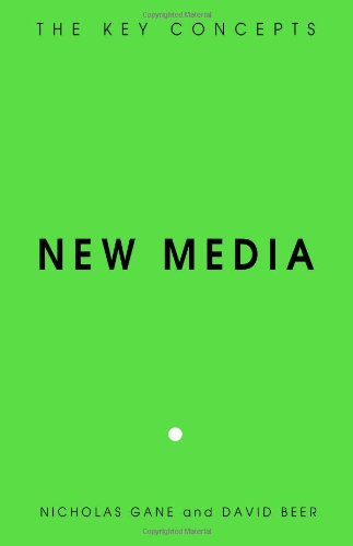 New Media The Key Concepts  2008 edition cover