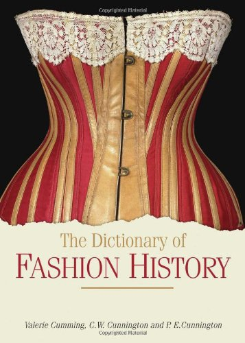 Dictionary of Fashion History   2010 edition cover