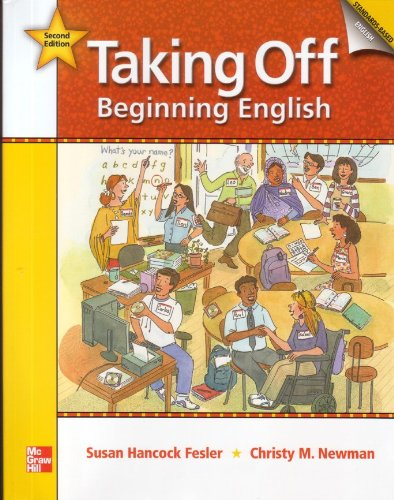 Taking Off, Beginning English  2nd 2009 (Revised) 9780073314334 Front Cover