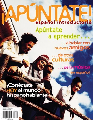 ¡Apúntate!: Español introductorio 1st 2010 9780073385334 Front Cover