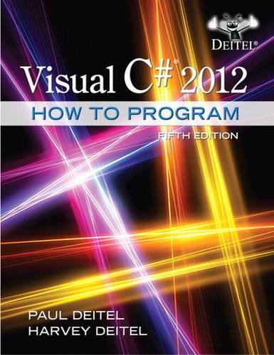 Visual C# 2012 How to Program  5th 2014 edition cover