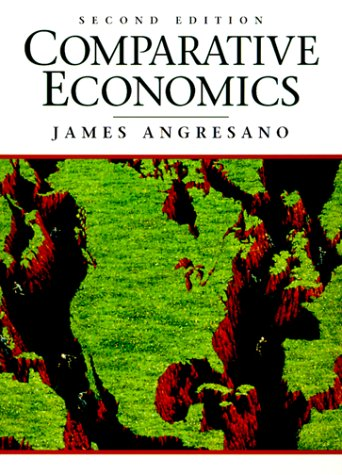 Comparative Economics  2nd 1996 9780133816334 Front Cover