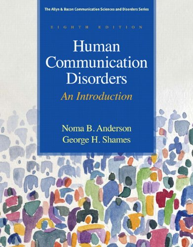 Human Communication Disorders An Introduction 8th 2011 edition cover