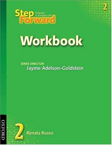 Step Forward  Workbook edition cover