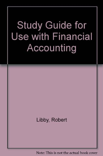 Financial Accounting 2nd 1998 (Student Manual, Study Guide, etc.) 9780256254334 Front Cover
