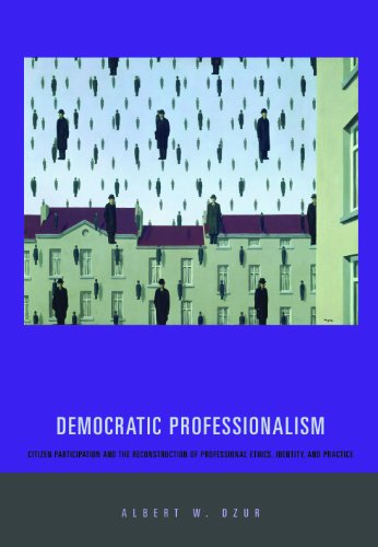 Democratic Professionalism Citizen Participation and the Reconstruction of Professional Ethics, Identity, and Practice  2008 9780271033334 Front Cover