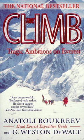 Climb Tragic Ambitions on Everest  1997 edition cover