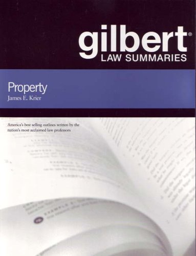 Gilbert Law Summaries: Property  17th 2006 (Revised) edition cover