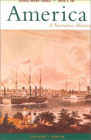 America A Narrative History 5th 1999 edition cover