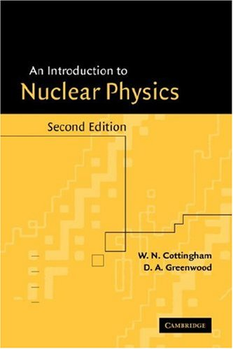 Introduction to Nuclear Physics  2nd 2001 (Revised) edition cover