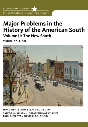 Major Problems in the History of the American South  3rd 2012 9780547228334 Front Cover