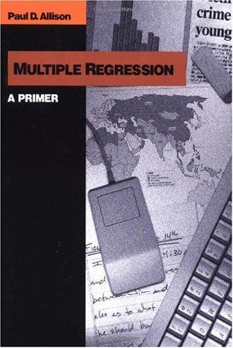 Multiple Regression A Primer  1998 edition cover