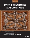 Data Structures and Algorithms in Java  6th 2014 edition cover