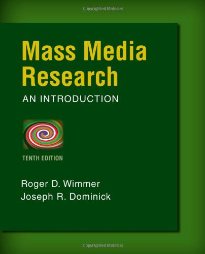 Mass Media Research  10th 2014 (Revised) 9781133307334 Front Cover
