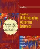 Essentials of Understanding Abnormal Behavior:  2nd 2013 edition cover