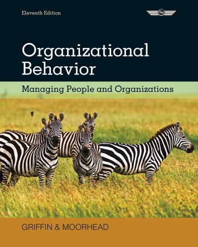Organizational Behavior Managing People and Organizations 11th 2014 9781305258334 Front Cover