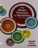 Loose-Leaf Version for the Basic Practice of Statistics 7e and LaunchPad for Moore's the Basic Practice of Statistics 7e (Twelve Month Access)  7th 2016 9781319019334 Front Cover