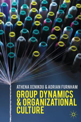 Group Dynamics and Organizational Culture Effective Work Groups and Organizations  2013 edition cover