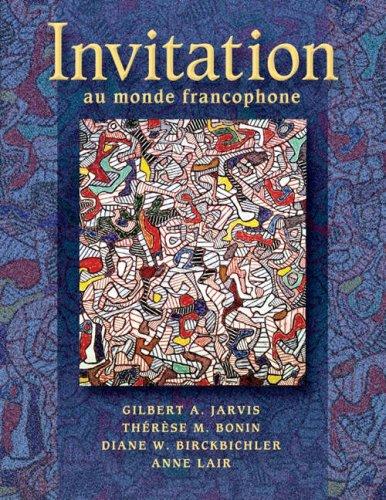Invitation au Monde Francophone  2nd 2005 (Revised) edition cover