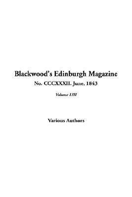 Blackwood's Edinburgh Magazine, No. 332. June, 1843:   2004 edition cover