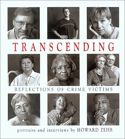 Transcending Reflections of Crime Victims - Portraits and Interviews  2001 edition cover