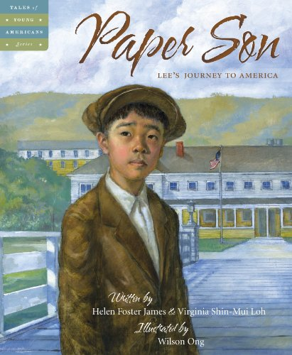 Paper Son Lee's Journey to America  2013 edition cover