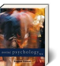 Social Psychology  6th 2012 edition cover