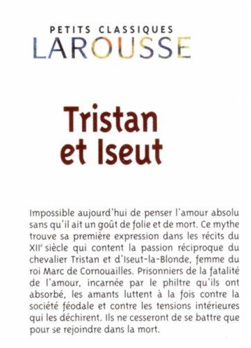 Tristan Et Iseut/ Tristan and Isolde: 1st 2006 edition cover