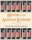 History of the American Economy  9th 2002 edition cover