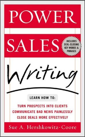 Power Sales Writing  2nd 2003 edition cover