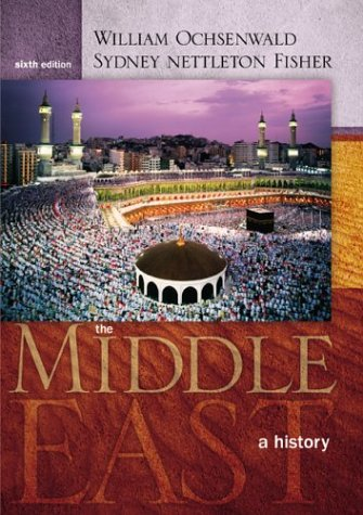 Middle East A History 6th 2004 (Revised) edition cover
