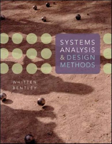 Systems Analysis and Design Methods  7th 2007 (Revised) edition cover