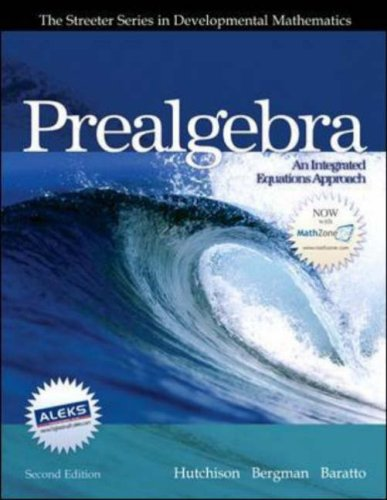 Prealgebra  2nd 2007 (Revised) edition cover