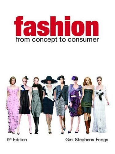 Fashion From Concept to Consumer 9th 2008 edition cover