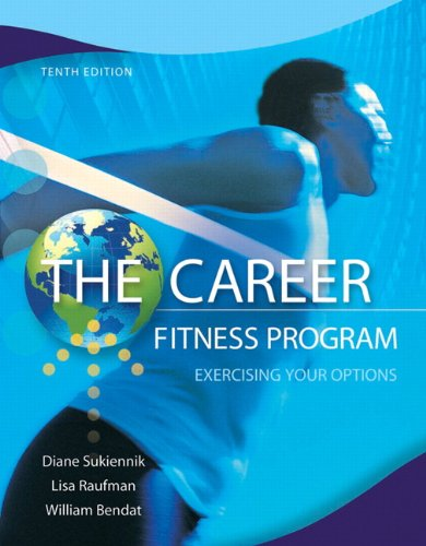 Career - Fitness Program Exercising Your Options 10th 2013 (Revised) edition cover