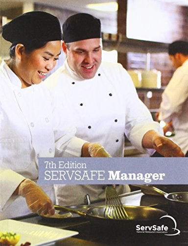 ServSafe ManagerBook with Answer Sheet  7th 2018 9780134812335 Front Cover