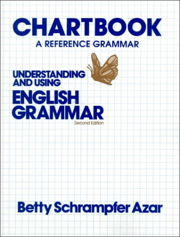 Understanding and Using English Grammar Chartbook 2nd 1993 edition cover