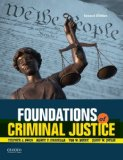 Foundations of Criminal Justice:   2014 edition cover