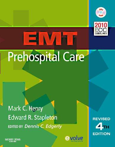EMT Prehospital Care  4th 2012 edition cover