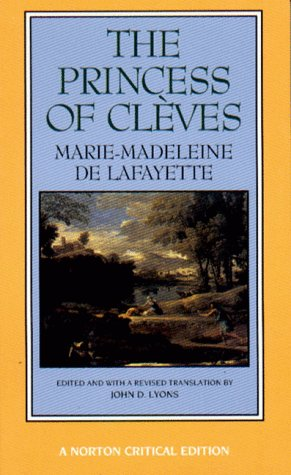 Princess of Cl�ves   1994 edition cover