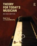 Theory for Today's Musician Workbook  2nd 2013 (Revised) edition cover