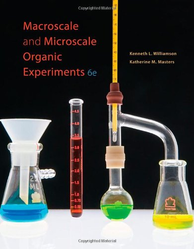 Macroscale and Microscale Organic Experiments  6th 2011 9780538733335 Front Cover