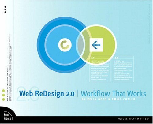Web Redesign 2.0 Workflow That Works 2nd 2005 (Revised) edition cover